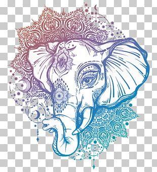 Tattoo Artist Mandala Ganesha Elephant PNG