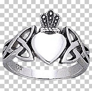 Claddagh Ring Silver Body Jewellery Font PNG