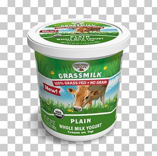 Milk Organic Food Yoghurt Cream Organic Valley PNG
