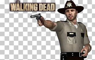 Rick Grimes Carl Grimes Character Three-dimensional Space 3D Modeling PNG