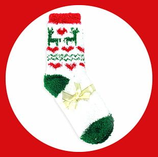 Christmas Ornament Sock Santa Claus Candy Cane Christmas Stocking PNG