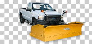 Snowplow Snow Removal Plough Pickup Truck PNG