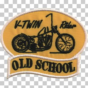 Embroidery Embroidered Patch V-twin Engine Motorcycle Chopper PNG