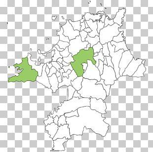 Fukuoka Prefecture Map PNG