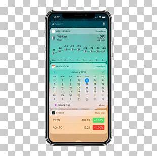 Feature Phone Smartphone IPhone X Apple IPhone 8 Plus Software Widget PNG