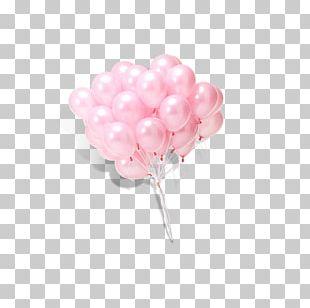 Pink Balloon Designer PNG