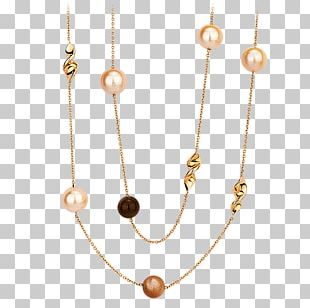 Pearl Body Jewellery Necklace Jewelry Design PNG