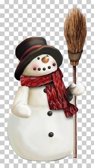 Snowman Hat Scarf PNG