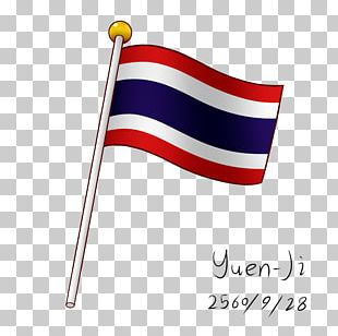 Flag Of Thailand Paint Tool SAI National Flag PNG