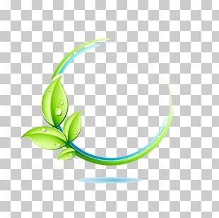Logo Green Leaf PNG