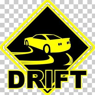 Formula D Drifting Car Sticker Decal PNG