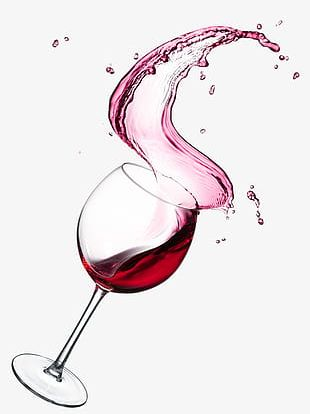 Splash Of Red Wine Red Wine PNG