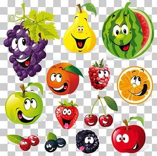 Vegetable Fruit Cartoon PNG