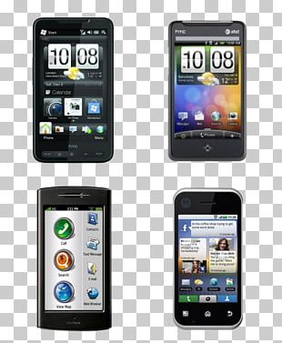 Smartphone Feature Phone Mobile Phone Icon PNG