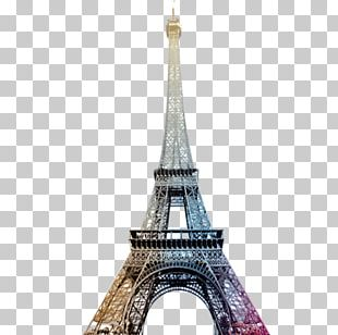 Eiffel Tower Paper Wall Decal PNG