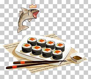 Japanese Cuisine Sushi Sashimi Makizushi PNG