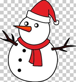 Snowman Drawing Christmas Cartoon PNG