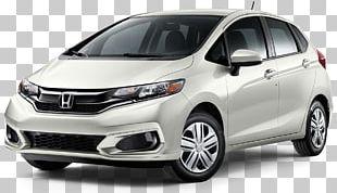 2018 Honda Fit Sport CVT Hatchback Car 2019 Honda Fit Continuously Variable Transmission PNG