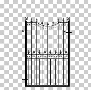 Wrought Iron Gate Fence Steel Metal PNG