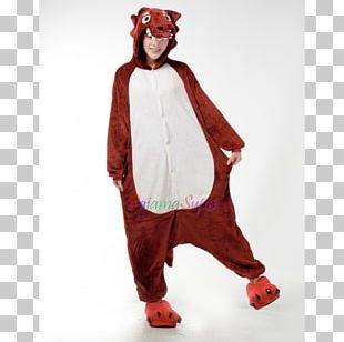 Big Bad Wolf Gray Wolf Kigurumi Costume PNG