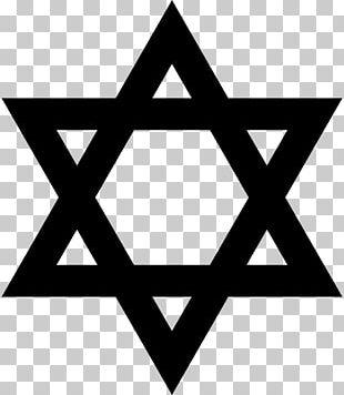 Star Of David Judaism Jewish Symbolism Hexagram PNG