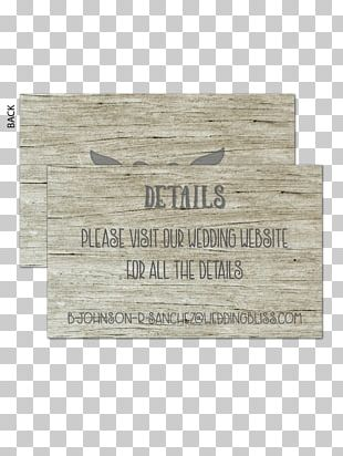 Wedding Invitation Paper Wood Place Cards RSVP PNG