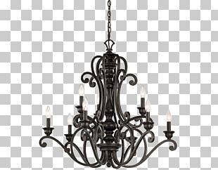 Chandelier Lighting Light Fixture Kichler PNG