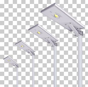 Light Fixture LED Street Light Solar Power Photovoltaic System PNG