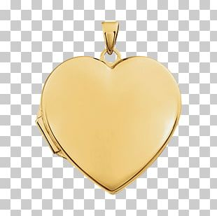 Locket Necklace Colored Gold Jewellery PNG