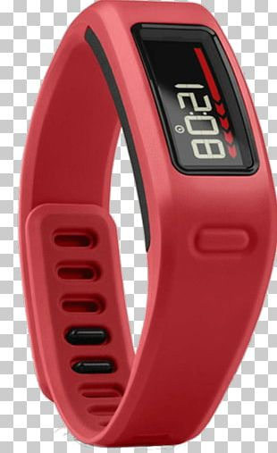 Garmin Vívofit Activity Tracker Heart Rate Monitor Garmin Vívosmart HR Red PNG