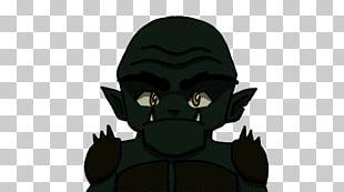 Carnivora Legendary Creature Animated Cartoon Black M PNG
