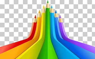 Through The Colour Lens Color Pencil Illustration PNG