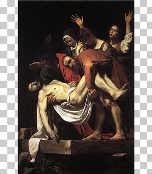 The Entombment Of Christ Judith Beheading Holofernes The Incredulity Of Saint Thomas Renaissance Baroque Painting PNG