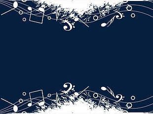 White Notes Background PNG