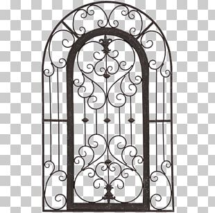 Garden Gate Wall Trellis Decorative Arts PNG