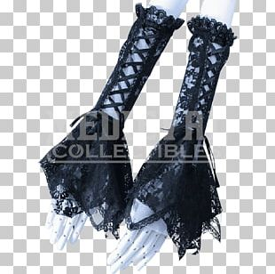 Gothic Fashion Lace Glove Victorian Era T-shirt PNG