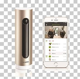 Netatmo Welcome Home Automation Kits Wireless Security Camera PNG