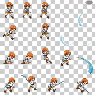 One Piece Treasure Cruise Nami Monkey D. Luffy Sprite PNG