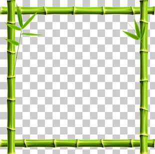 Giant Panda Frame Bamboo PNG