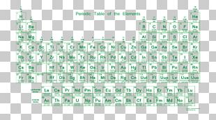 Periodic Table Chemistry Valence Electron Chemical Element PNG