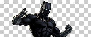 Black Panther Marvel: Avengers Alliance Black Widow Captain America Storm PNG
