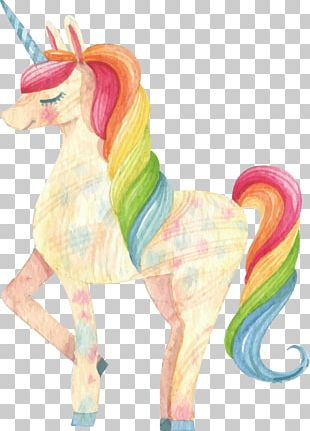 Unicorn Drawing PNG