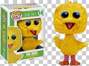 Big Bird Elmo Funko Mr. Snuffleupagus Cookie Monster PNG