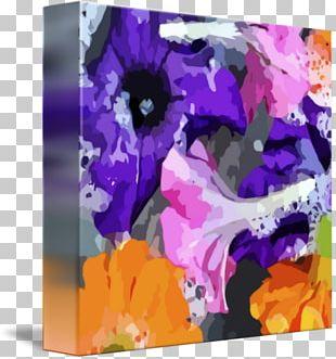 Floral Design Violet Art Petal PNG