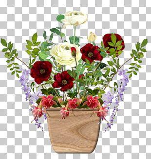 Garden Roses Cut Flowers Floral Design Flowerpot PNG