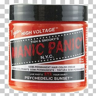 Hair Coloring Manic Panic Human Hair Color PNG