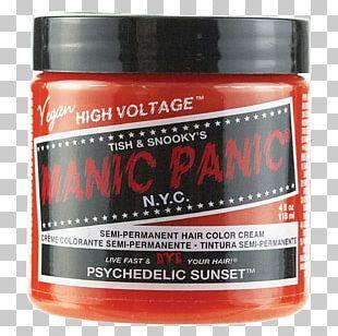 Hair Coloring Manic Panic Human Hair Color PNG