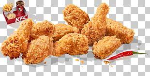 Buffalo Wing KFC Fried Chicken French Fries PNG