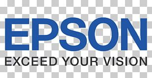 Epson Label Printer Logo Projector PNG