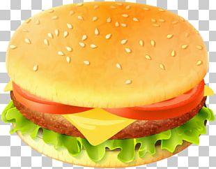 Hamburger Cheeseburger Fast Food Whopper Veggie Burger PNG